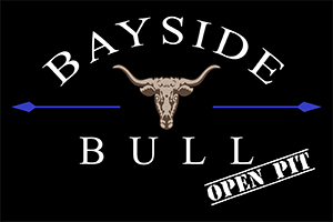 Bayside Bull Open Pit Edgewater Maryland BBQ